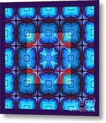 Kaleidoscope Combo 10 Metal Print