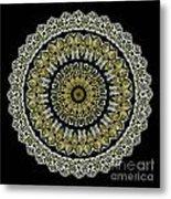 Kaleidoscope Ernst Haeckl Sea Life Series Steampunk Feel Metal Print by Amy Cicconi