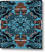 Kaleidoscope Flower 2 Metal Print