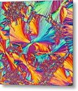 Kaleidoscope K Metal Print