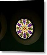 Kaleidoscope Window  Metal Print