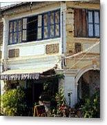 Kampot Epic Arts Cafe Metal Print