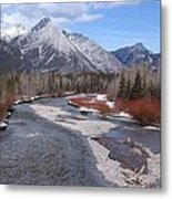 Kananaskis River Metal Print