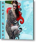 Kandi Blaze Poster 1 Metal Print