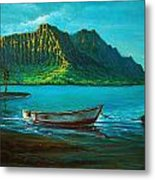 Kaneohe Bay Early Morn 1 Metal Print