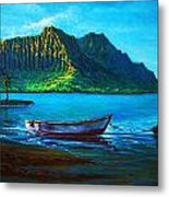 Kaneohe Bay Early Morn Metal Print by Joseph   Ruff