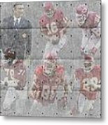 Kansas City Chiefs Legends Metal Print