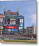 Kansas City Royals V Detroit Tigers Metal Print