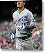 Kansas City Royals V Seattle Mariners Metal Print