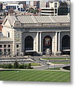 Kansas City - Union Station Metal Print