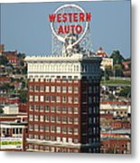 Kansas City - Western Auto Building 2 Metal Print