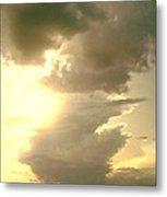 Kansas Clouds Metal Print
