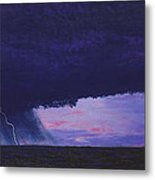 Kansas Lightning Storm Metal Print