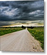 Kansas Storm In June Metal Print