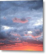 Kansas Sunset Metal Print