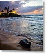 Kapa'a Kauai Sunrise Metal Print