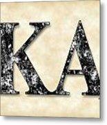 Kappa Alpha Society - Parchment Metal Print