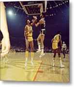 Kareem Abdul Jabbar  Metal Print by Retro Images Archive