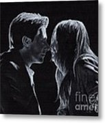 Karen Gillan And Arthur Darvill Metal Print by Rosalinda Markle