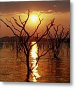 Kariba Sunset Metal Print