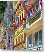 Karlovy Vary Metal Print