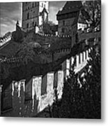 Karlstejn Castle Metal Print