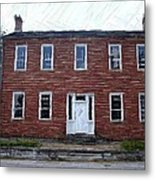 Karrick Parks House - Perryville Ky Metal Print by Thia Stover