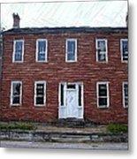 Karrick Parks House - Perryville Ky Metal Print