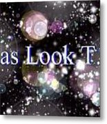 Kas Look T.v Metal Print