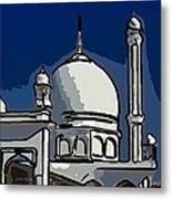 Kashmir Mosque 2 Metal Print