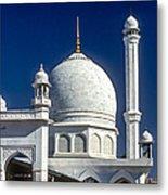 Kashmir Mosque Metal Print