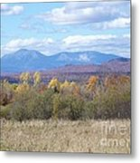 Katahdin From Staceyville 3 Metal Print