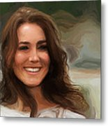 Kate Middleton Metal Print