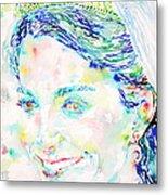 Kate Middleton Portrait.2 Metal Print
