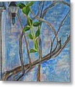 Kathy's Wall And Vine Metal Print