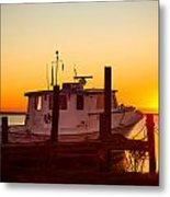 Katlyn At Sunrise Metal Print