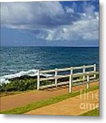 Kauai Beach - Morning Storm Metal Print