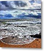Kauai Glass Beach Metal Print
