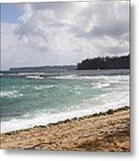 Kauai Shore Looking South Metal Print