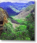 Kauai Valley Metal Print