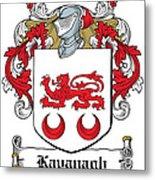 Kavanaugh Coat Of Arms Irish Metal Print