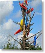 Kayak Tree Metal Print