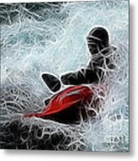 Kayaker 2 Metal Print