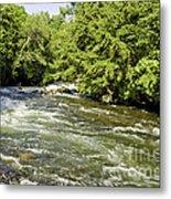Kayaking On Gull River Metal Print