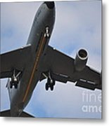 Kc135 Military Aircraft  Picture C Metal Print