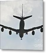 Kc135 Military Aircraft  Picture E Metal Print