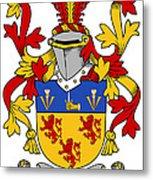 Kearney Coat Of Arms Irish Metal Print