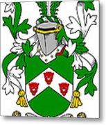Kearns Coat Of Arms Irish Metal Print