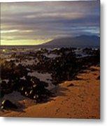 Keawakupu Beach Lava Evening Light Maui Hawaii Metal Print