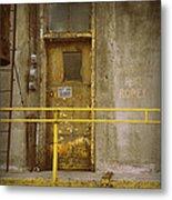 Keep Door Closed Metal Print